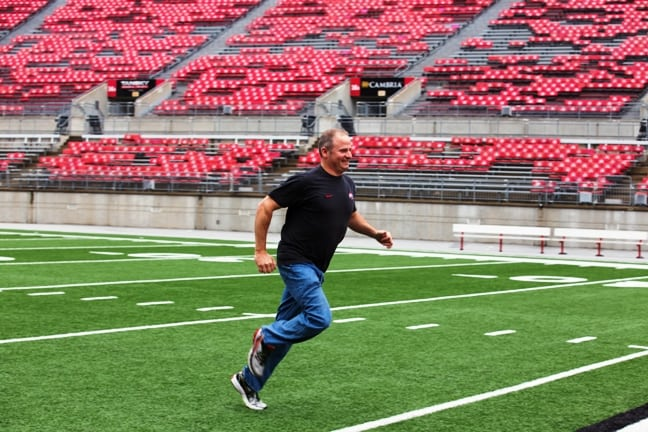 OSU Stadium Tour – Glenn rekindling his youth