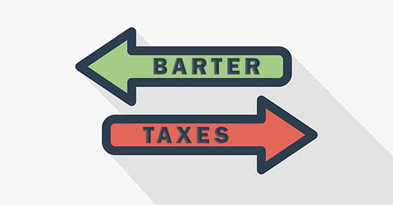 Bartering: A taxable transaction even if your business exchanges no cash
