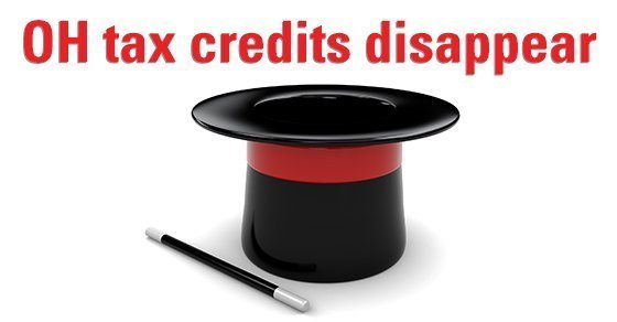 2019 – 10/02 Ohio Tax Credits Disappear
