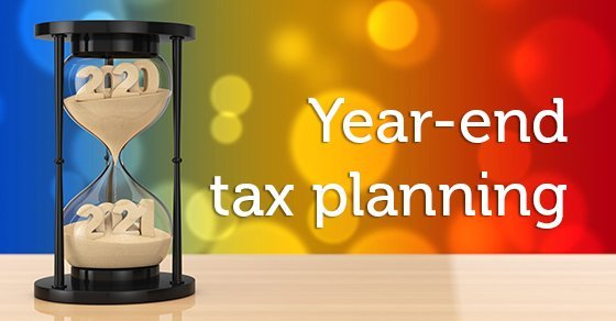 Year-end tax planning strategies must take business turbulence into account